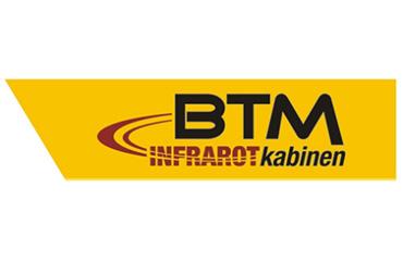 BTM Infrarotkabinenen Logo