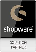 Wir sind zertifizierter Shopware Solution Partner